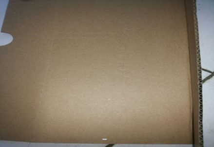 Figure 1 Picture 1. The Used Cardboard as basic material of KAUGACI